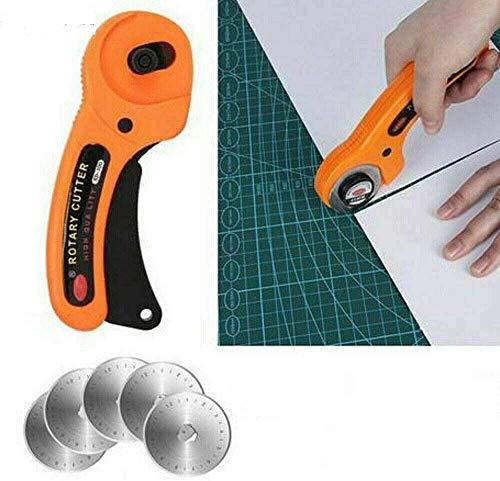 Cuchillas redondas de 45 mm de corte rotativo manual para co