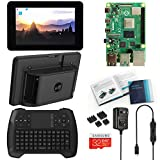 Vilros Raspberry Pi 4 4GB Desktop with Official 7 Inch Touchscreen and Gaming Style Mini Keyboard/Touchpad Combo
