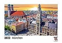 Muenchen 2022 - Timokrates Kalender, Tischkalender, Bildkalender - DIN A5 (21 x 15 cm)