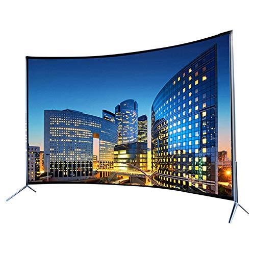 household items 32/42/50/55/60 Pulgadas Smart TV de Pantalla Curva de Ultra Alta definición 4K HDR, Televisor LCD ultradelgado de Alta resolución TV de Red Inteligente WiFi,Soporta HDMI, USB, VGA