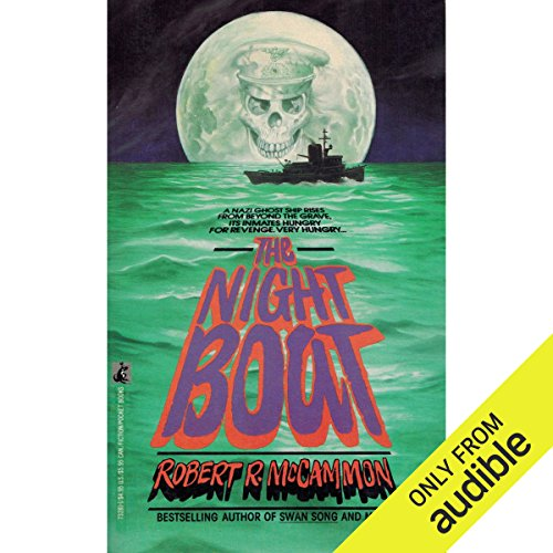 The Night Boat audiobook cover art