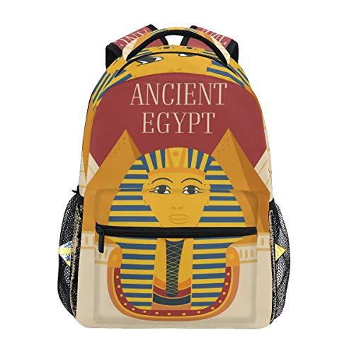 Esfinges del Antiguo Egipto Mochila Infantiles para Niños Niñas Hombro Mochilas para Portátil De Viaje Mujeres Hombres