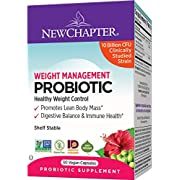 New Chapter Weight Management probiotic, 30 Count