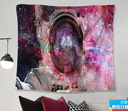 Estrella Astronauta Tapiz Colgante De Pared Dormitorio Sala De Estar Decoración De Pared Tapices Estera De Yoga Toalla De Playa Manta Mantel 150X200Cm