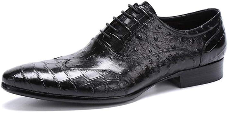detailing d8d01 20df3 Zxcer Zxcer Zxcer Herren Lederschuhe Sommer Leder wies Britisch Casual  Herrenschuhe Mode Hair Stylist Schuhe B07MR7RRZM 033667