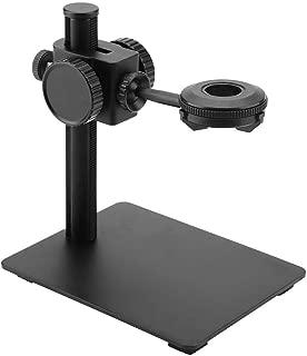 NAROOTE ARRIBA Abajo Soporte de mesa de soporte de aleaci/®n de aluminio ajustable para montaje en C de microscopio digital industrial