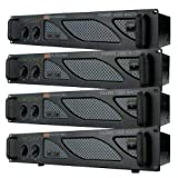 EMB Pro - PA6400 - Rack Mount Professional Power Amplifier - 3200 Watts PA Band Club