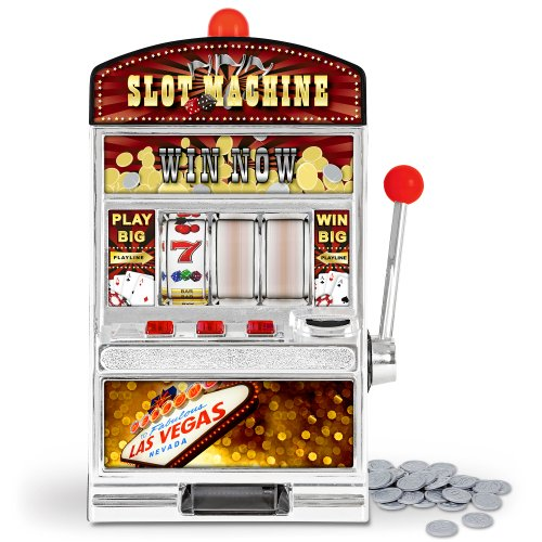 GreatGadgets 1890 Casino Slot Machine – Einarmiger Bandit (38 cm) - 4