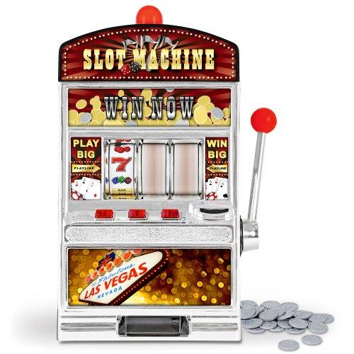 GreatGadgets 1890 Casino Slot Machine – Einarmiger Bandit (38 cm) - 4