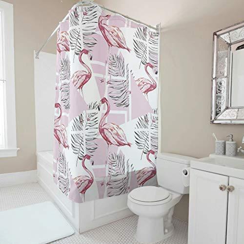 Toomjie Animal patroon douchegordijn met gratis haken waterdichte badkamer douchegordijnen vogel bad gordijnen36 x72