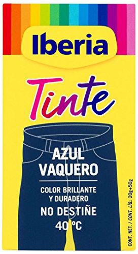 Iberia - Tinte Azul Vaquero para ropa