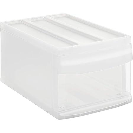 PP Anthracite sans BPA Klein//8,3L Plastique 35,0 x 26,0 x 14,5 cm Rotho Country Bo/îte /à Tiroirs 8,3L avec 1 Tiroir en Rotin
