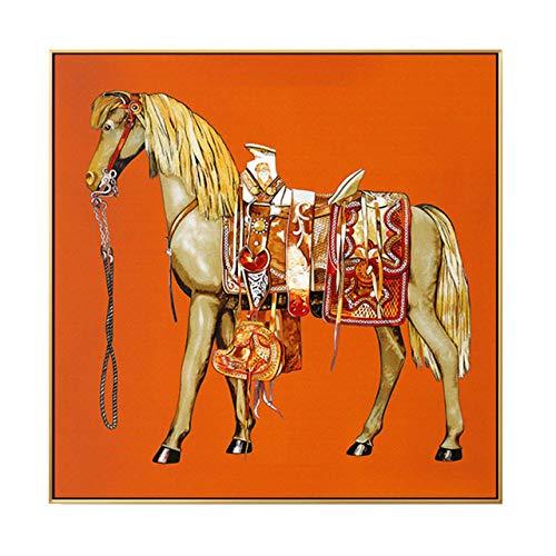 QND,Tableau Murale,Art Mural Animal Peinture Abstraite...