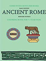 Coloring Book for 7+ Year Olds (Ancient Rome)