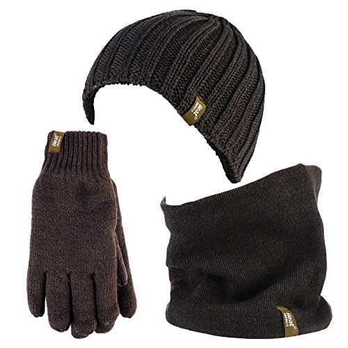 Heat Holders - Gants - Homme Gris Gris - Gris - Taille Unique