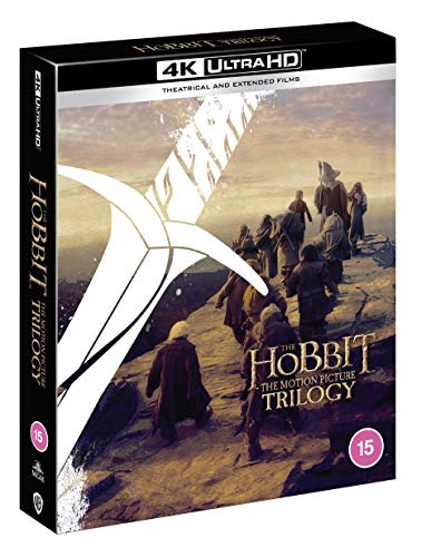 The Hobbit Trilogy [Theatrical and Extended Edition] [4K] [2012] [Blu-ray]