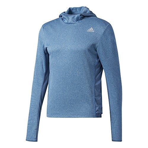 adidas Herren Response Astro Hood Longsleeve, Core Blue, XL