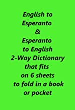 Best english to esperanto Reviews