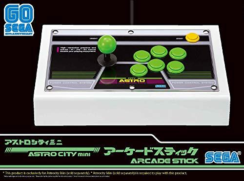 SEGA Astro City Arcade Stick & Green Buttons - Not Machine Specific