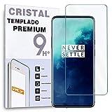 REY Protector de Pantalla para ONEPLUS 7T Pro, Cristal Vidrio Templado Premium