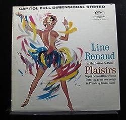 Line Renaud - Au Casino De Paris Dans Plaisirs (Super Revue D'Henri Varna) - Lp Vinyl Record