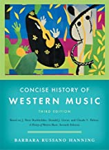 Best concise history of western music 3rd edition Reviews