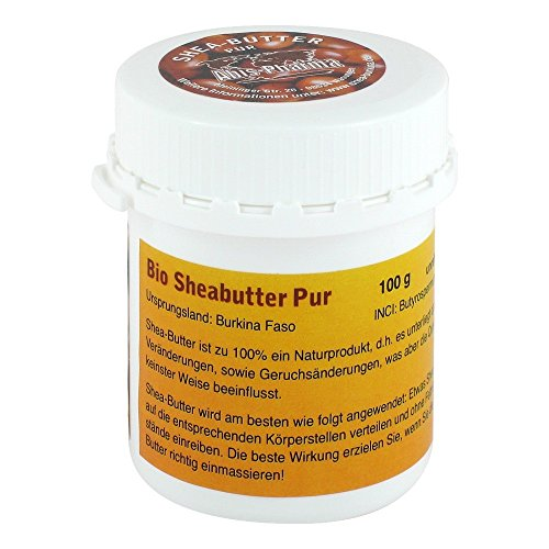 SHEABUTTER PUR BIO UNRAFFI, 100 g