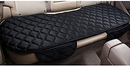 Sedeta Silk Velvet Auto Car Vehicle Long Rear Seat Chair Cover Protective Cushion Mat pad for baby, SUV, skin-friendly c