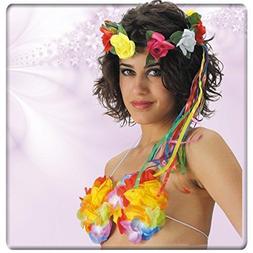 DC Couronne de Fleurs Hamaï Vahiné - Fleurs en Tissu - Multicolore - 859