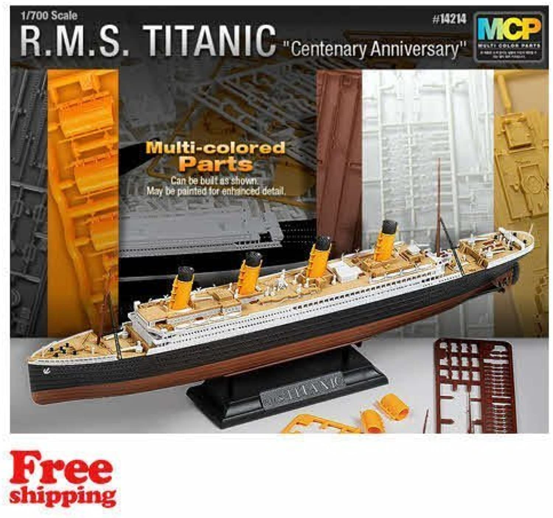 Toys 4 U 7777 [Academy] Plastic Model Kit 1 700 R.M.S. Titanic Centenary Anniversary