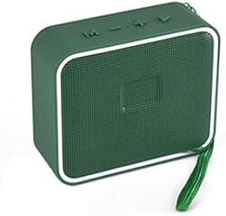 New Bluetooth Speaker Fashion Colorful Wireless Mini Bluetooth Speaker Outdoor Portable Bluetooth Speaker,Green