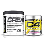 Cellucor Pre Workout & Creatine Bundle,  C4...