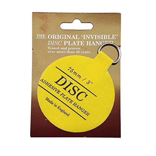 Disc 75mm Adhesive Plate Hanger