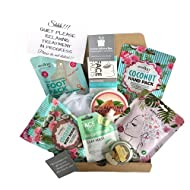 Head To Foot Pamper Time Relaxation Box, Body Butter, Body Scrub, Foot Pack, Hand Pack, Hair Mask, C...