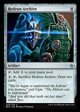 Magic The Gathering - Hedron Archive (223/274) - Battle for Zendikar
