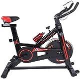 Bicicleta estática de spinning para interiores, muy silenciosa, para interiores, para gimnasio en casa, adecuada para el gimnasio en casa