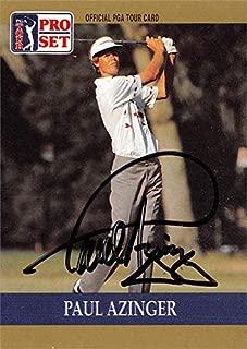 Paul Azinger autographed trading card (Golf, PGA Tour, Eastern Florda State, SC) 1990 Pro Set #21