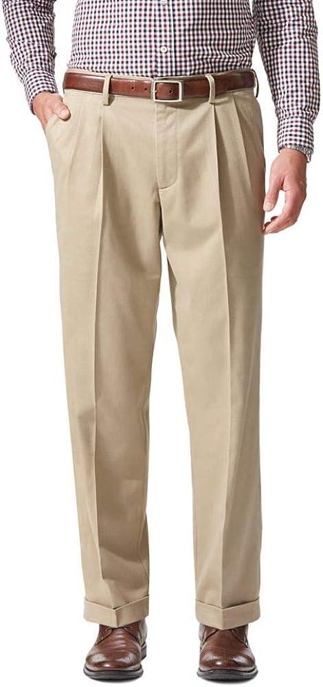 Dockers Men's Comfort Khaki Cuffed Pant - Pleated