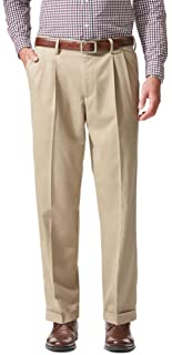 Men's Comfort Khaki Cuffed Pant - Pleated