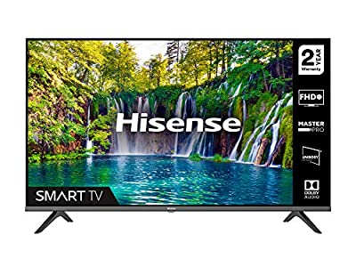 HISENSE 40A5600FTUK 40-inch Full HD 1080P Smart TV with dbx-tv Sound, WiFi, USB Playback, Netflix, Freeview play (2020 series) by Hisense