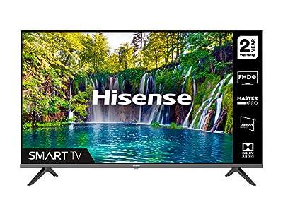 HISENSE 40A5600FTUK 40-inch Full HD 1080P Smart TV with dbx-tv Sound, WiFi, USB Playback, Netflix, Freeview play (2020 series) by Hisense