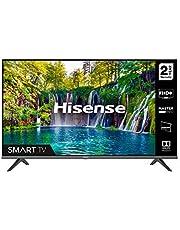 HISENSE 40A5600FTUK 40-inch Full HD 1080P Smart TV with dbx-tv Sound, WiFi, USB Playback, Netflix, Freeview play (2020 series), Black
