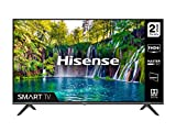 HISENSE 40A5600FTUK 40-inch Full HD 1080P Smart TV with dbx-tv Sound, WiFi, USB Playback, Netflix, Freeview play (2020 series), Black