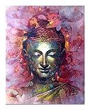 ZMK-720 Pintura al óleo Pinturas abstractas Arte de la Pared de Lona de Buda en los Carteles de Pared y Cuadros de la Pared Imprime Budismo For Living Romm Decoración