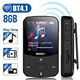 MP3 Player with Bluetooth 4.0 MP3 Player Portable Running Mini HiFi Lossless Music