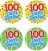Teacher Created Resources 100 Days Smarter Wear'Em Badges