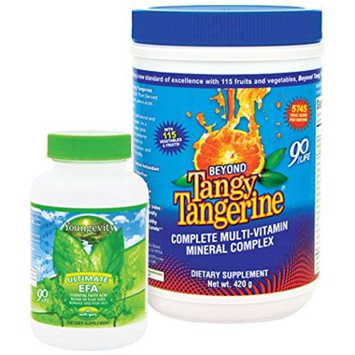 Youngevity BTT Basic 90 Pak Beyond Tangy Tangerine Ultimate EFA Plus...