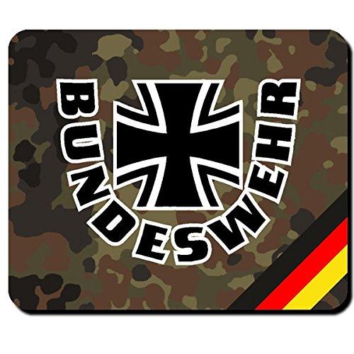 Bundeswehr Deutschland Kreuz BW Bund Dienst Wehrpflicht Wappen Abzeichen Emblem - Mauspad Mousepad Computer Laptop PC #8034