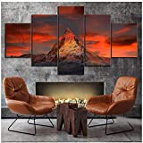 sjkkad Schweiz Zermatt Matterhorn Landschaft Poster