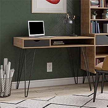 Novogratz Concord Computer Desk with Storage